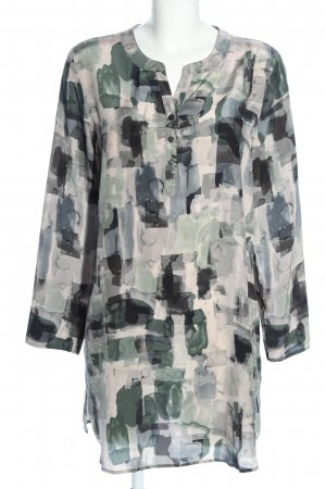 Anna Aura Long Blouse camouflage pattern casual look