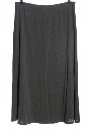 Anna Aura Maxi Skirt light grey flecked casual look