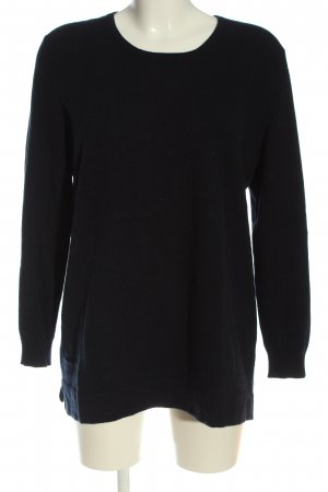 Anna Aura Knitted Sweater black casual look