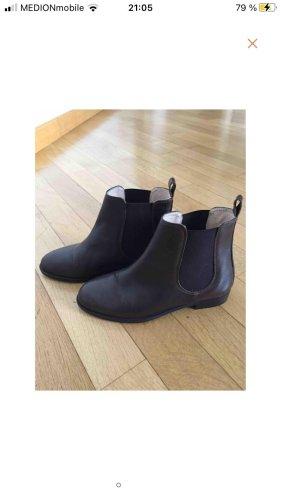 Anna Baiguera Chelsea Boots dark brown-black