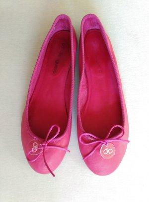 anna baiguera Leder Ballerinas Gr.40 Pink flache Schuhe