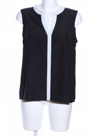 anna & ella Blouse Top black-white business style