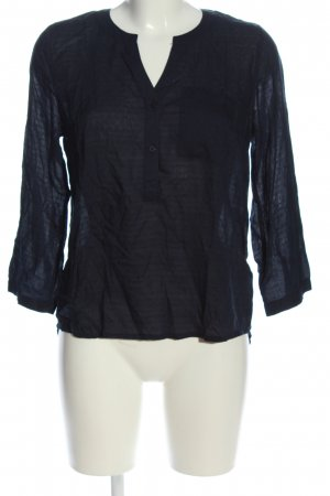 anna & ella Koszulowa bluzka czarny W stylu casual