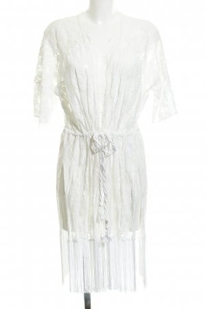 anna & ella Kimono biały Prosty styl