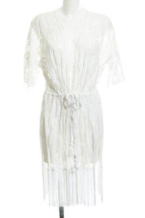 anna & ella Kimono white simple style