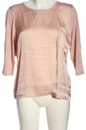 anna & ella Blusa brillante rosa stile casual