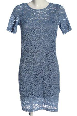 anna & ella Koronkowa sukienka niebieski Elegancki