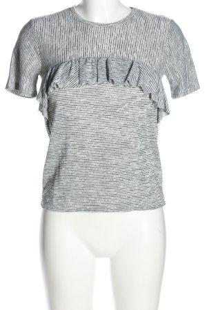 anna & ella T-shirt Wzór w paski W stylu casual