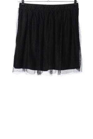 anna & ella Tiulowa spódnica czarny W stylu casual