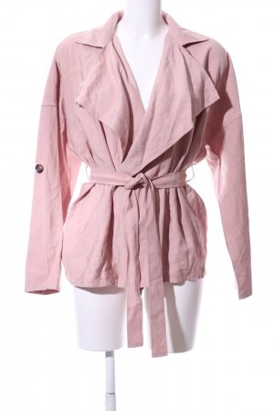 anna & ella Between-Seasons Jacket dusky pink casual look