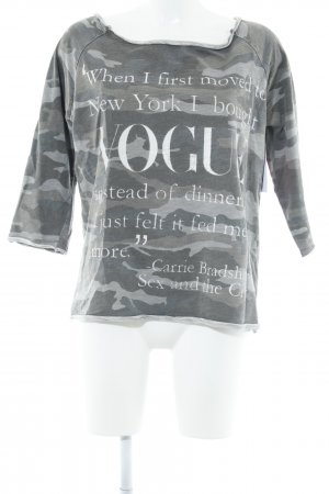 Anna F. Longsleeve placed print casual look