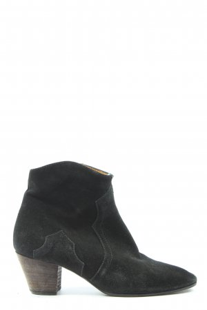 Anna F. Western Booties black casual look