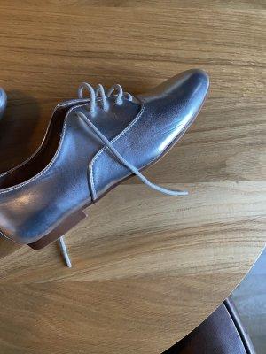 Anna Field 37 Schuhe silber Schnürschuhe
