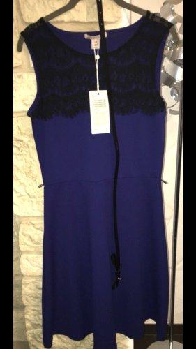 Anna Field Vestido línea A negro-azul