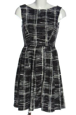 Anna Field Robe trapèze noir-blanc motif abstrait style décontracté
