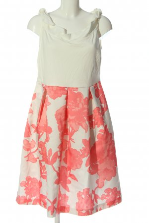Anna Field Abito linea A bianco sporco-rosa motivo astratto stile casual