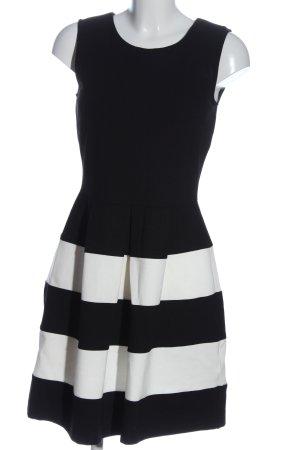 Anna Field A-Linien Kleid schwarz-weiß Streifenmuster Casual-Look