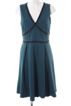 Anna Field A-lijn jurk cadet blauw-zwart Gemengd weefsel