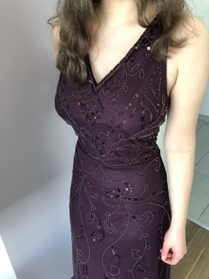 Anna Field Evening Dress brown violet