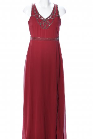 Anna Field Evening Dress red-silver-colored elegant