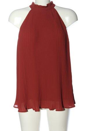 Anna Field Mouwloze blouse rood elegant