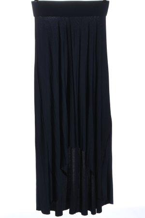 Anna Field Asymmetrische rok blauw casual uitstraling