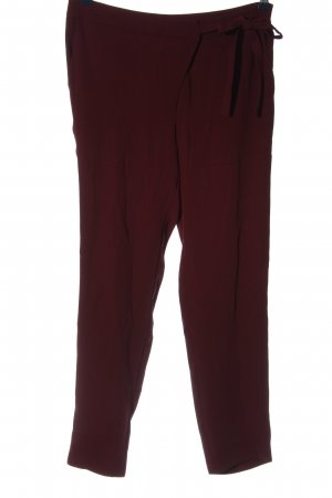 Anna Field Baggy broek rood casual uitstraling