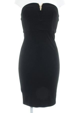 Anna Field Bandeaukleid schwarz Elegant
