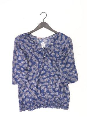 Anna Field Bluse Größe 38 blau aus Viskose