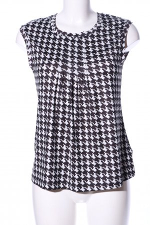 Anna Field Blouse Top black-white graphic pattern business style