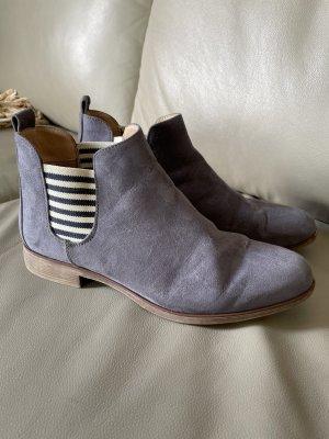 Anna Field Wciągane buty za kostkę szaro-fioletowy