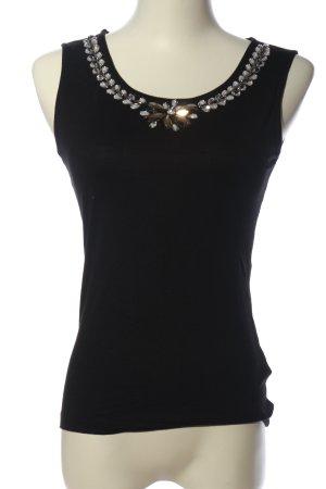Anna Field Podkoszulek na ramiączkach czarny W stylu casual