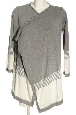 Anna Field Cardigan gris clair-blanc moucheté style décontracté