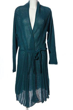 Anna Field Kardigan niebieski Warkoczowy wzór W stylu casual