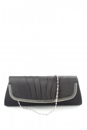 Anna Field Clutch schwarz-silberfarben Casual-Look