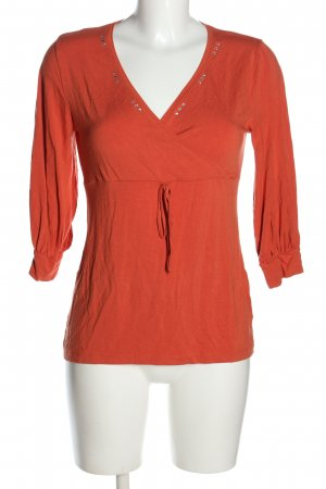 Anna Field Empire Waist Shirt red casual look
