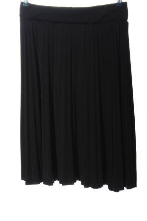 Anna Field Jupe à plis noir style décontracté