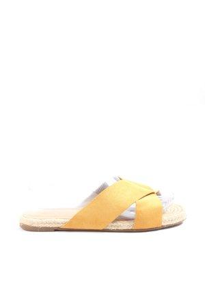 Anna Field Tong jaune primevère style décontracté