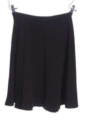 Anna Field Rozkloszowana spódnica czarny W stylu casual