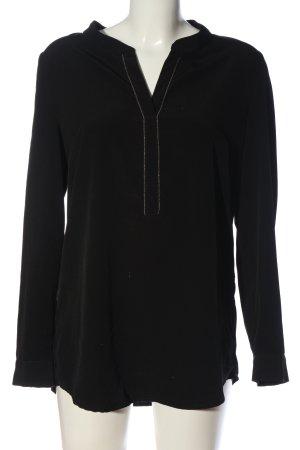 Anna Field Koszulowa bluzka czarny W stylu casual