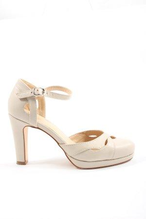 Anna Field Hoge hakken sandalen wolwit zakelijke stijl