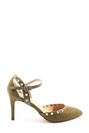 Anna Field High Heel Sandaletten khaki Casual-Look