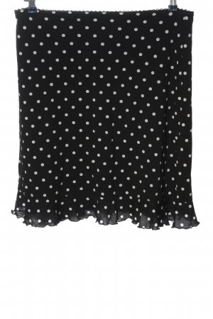 Anna Field Rok met hoge taille zwart-wit volledige print elegant