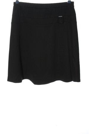 Anna Field Rok met hoge taille zwart casual uitstraling