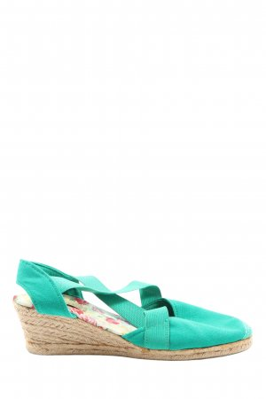 Anna Field Wedge Sandals turquoise casual look