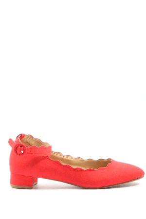 Anna Field Riemchen Ballerinas rot Elegant