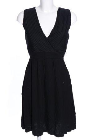 Anna Field Vestido de tela de jersey negro estilo «business»