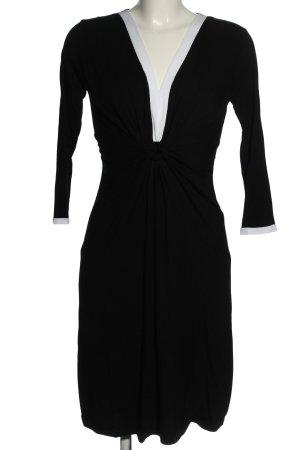 Anna Field Jerseykleid schwarz-weiß Casual-Look