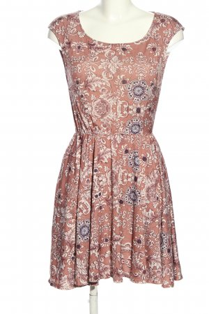 Anna Field Sukienka z dżerseju Abstrakcyjny wzór W stylu casual