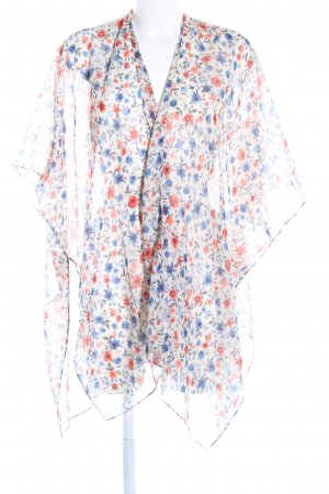Anna Field Kimono natural white flower pattern street-fashion look